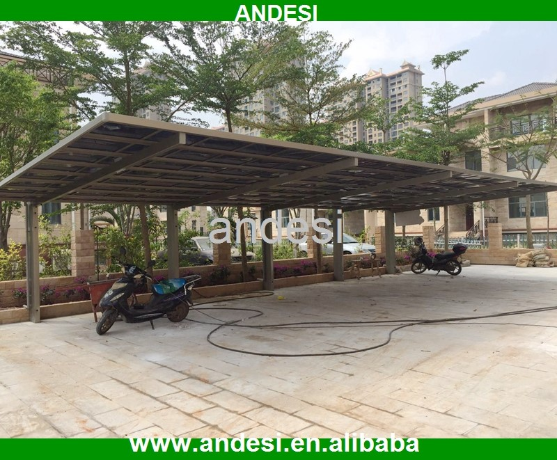 outdoor steel frame siding carport parts
