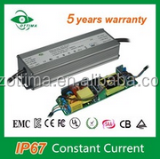 waterproof 60w 500mA led driver 84-120Vdc constant current 90v led driver