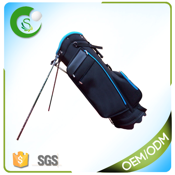 Black Customized Golf Stand Bag