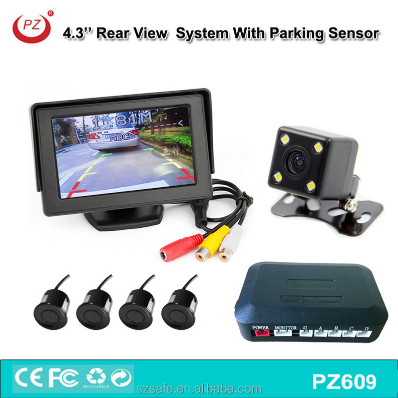 Car auto vehicle rearview camera system