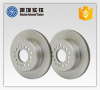 Titanium helicopter main metabo alternator rotor and stator blade casting