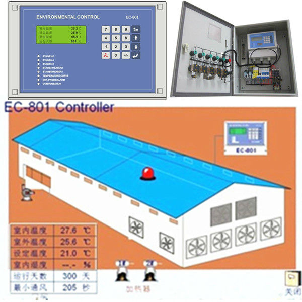 Poultry Environment controller for poultry farm equipmnent