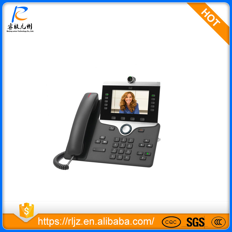 NEW Cisco CP-8845-K9= IP video Phone 8845 DIGITAL CAMERA, BLUETOOTH INTERFACE