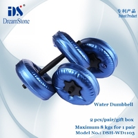 High Quality GYM dumbbell Water Bottle Set Cheap Dumbbells for Sale - Effective Exercise Equipment