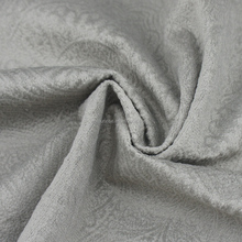 100 polyester embossed blackout curtain fabric