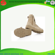 2014 new design anti-slip water proof wearable side zipper military tacticl desert boots