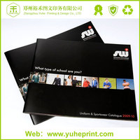 2015 Fashion Full Color Offest Printing Saddle Stitching Hair Color Catalog/Wrought Iron Gates Catalog