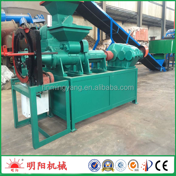 Lowest price silver charcoal bar making machine coal powder briquette machine 008615039052280