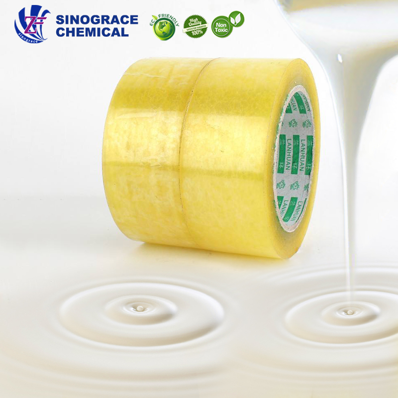 carton package sealing tape based adhesive acrylic water solubility adhesive