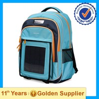 wholesale solar panel backpack,trolley bag for kids