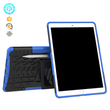 Drop protective kickstand cover for Ipad pro 10.5 case shockproof pc tpu tablet cover