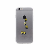 2016 New Fashion Tpu Pc Water Paste Printing Mobile Covers