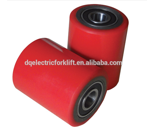 high quality small rubber wheels with bearings made in China