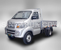 SINOTRUK CDW Brand 4x2 Mini Cargo Truck for sale in Africa-LK717P6B
