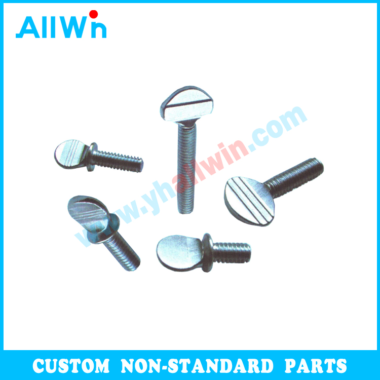 High Quality Nonstandard Fasteners Carbon Steel Parts Wing Butterfly Bolt Thumb Screws