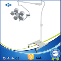 Clinic Surgical Lamp LED Portable Operating Light With Brakes