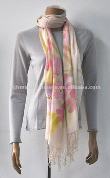 Fashion New Cashmere Scarf for Women and lady with Calligraphic printing