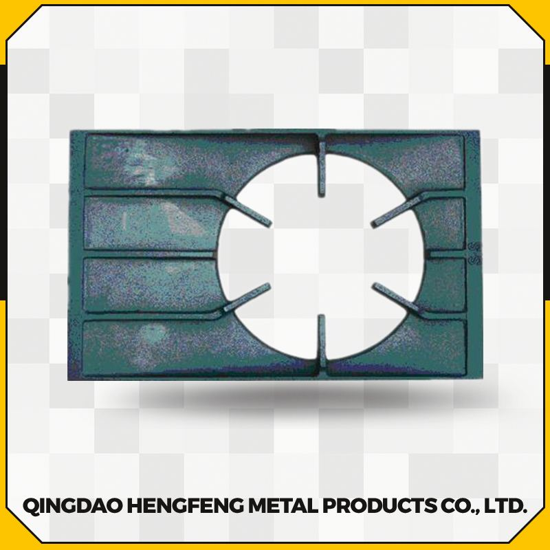 Top quality cast iron gas grill stove grate plate