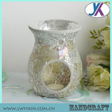 Clear oil mosaic glass electric incense burner