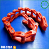 Automatic Full Plastic Bottle Chain Red