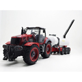 1:28 plastic tractor with remote control