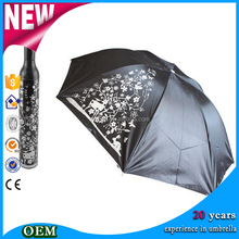 Promotional Fashion Rain Umbrella Bottle Cap Umbrella
