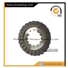 air diffuser/compressor wheel and compressor blade used for gas turbine