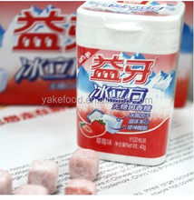 40g ice cube chewing gum with fruit flavor