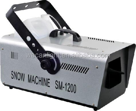 SN-1500 wedding stage decoration snow machine