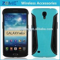Accept OEM Hybrid Defender Combo Cell Phone Case For Samsung Galaxy Mega 6.3 I9200