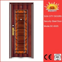 Hot mother and son stainless steel security door made in China SC-S025