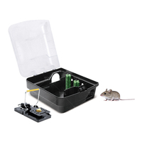 Plastic Large Mouse Trap Live Animal Mouse Catcher Trap Metal Trap (TLRBS0103)