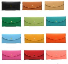 Bulk low price colorful envelope clutch bag ladies pars hand ladies beautiful credit card wallet