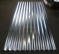 Galvanized corrogated steel sheet