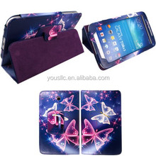 PRINTED TABLET LEATHER CASE FLIP WALLET LEATHER CASE FOR SAMSUNG GALAXY TAB3 8.0 T310