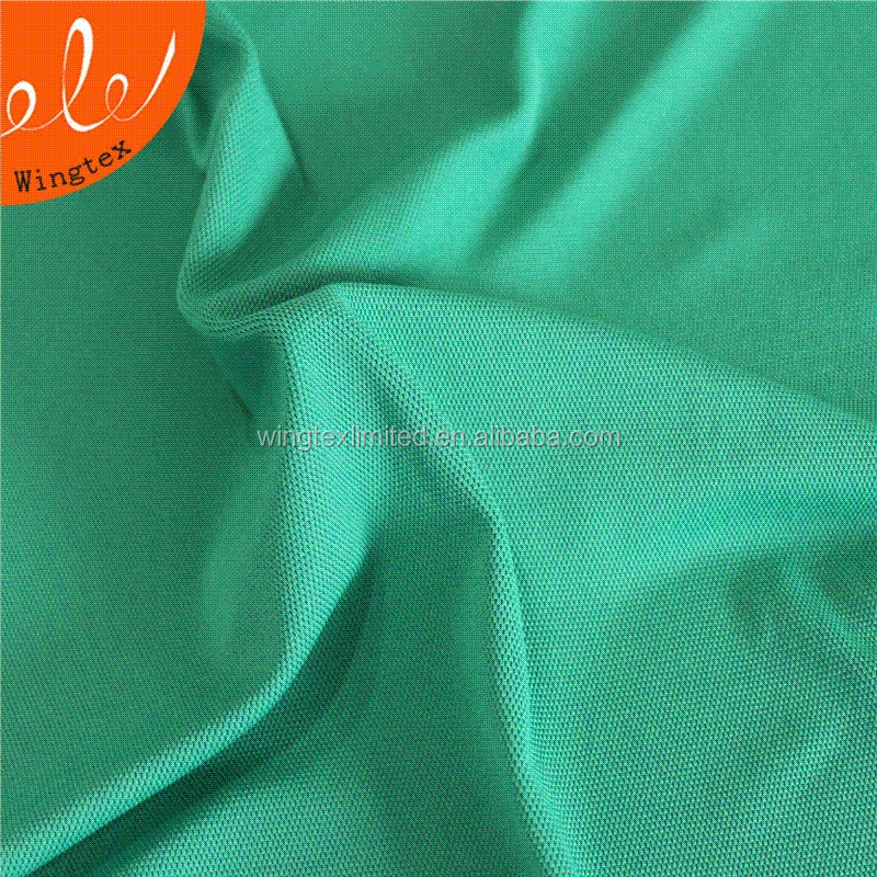 200g 95 polyester 5 spandex stretch knitted mesh fabric for sportswear