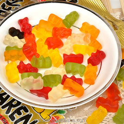 Plane shape gummy Candy with multivitamin for Vegetarian/Children