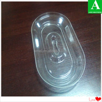Transparent hard acrylic plastic covers of vacuum thermoform