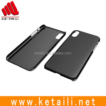 China supplier newest plastic blank phone case for iphone 8