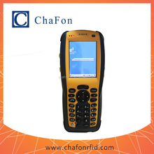 windows CE 5.0 OS hf rfid handheld reader with GMS/3G/WIFI/Bluetooth for logistics control system