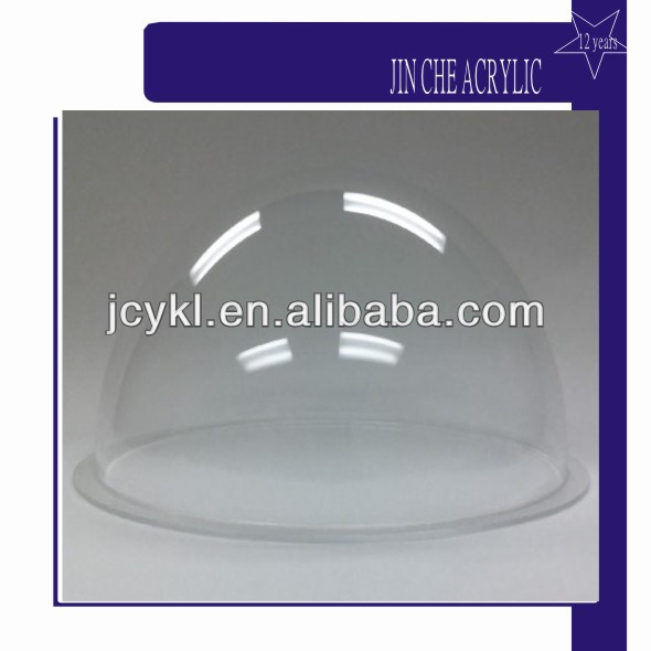 Acrylic machinery parts, Acrylic dome, Clear Acrylic Dome Cover