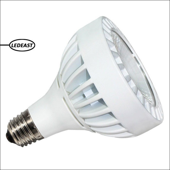 beam angle 15 degree spotlight 30w PAR30 Led shop lights 2700k