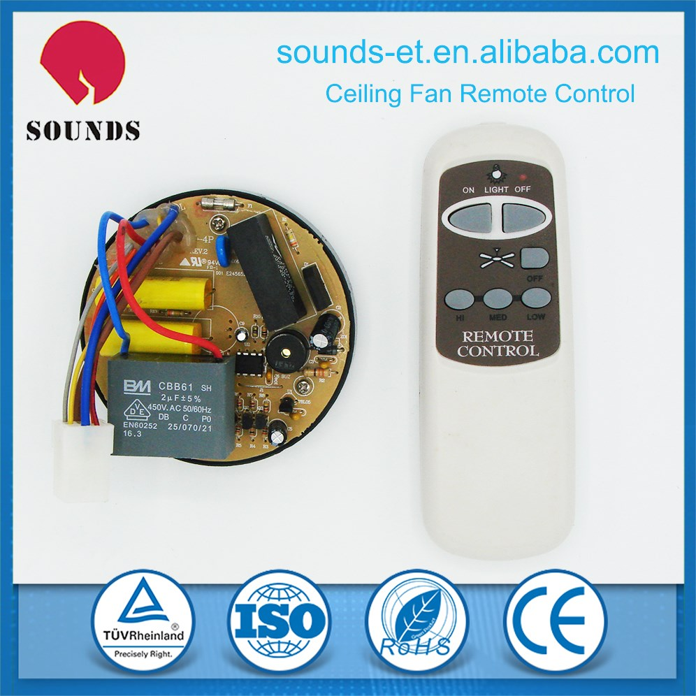 PCBA assembly services for celling fan remote controller
