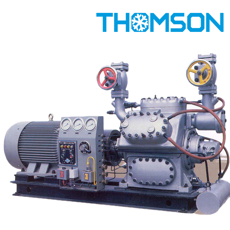 100 Series Reciprocating Ammonia Refrigeration Compressor Unit 6AW10