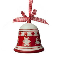 New Arrival Ceramic Hand Painted Christmas Bell