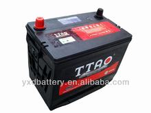 sealed lead acid Maintenance-free car battery 75D26L make in China