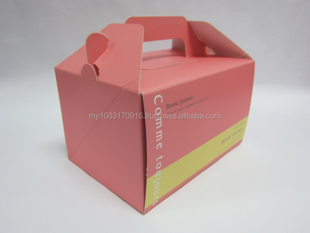 Customized Printing Cake Box