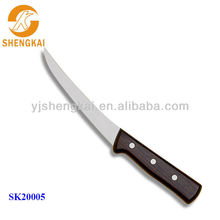 1pc stainless steel decorative kitchen knife in wooden handle