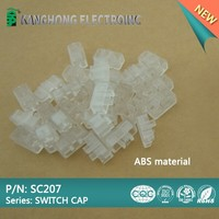 transparent tact switch cap SC207/tact switch button/switch cover/flat cap