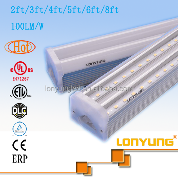 cartoon t5 integrated tube 1.2m 30w 40w 60w China supplier led tube light rohs approvedt t5 fluorescent light